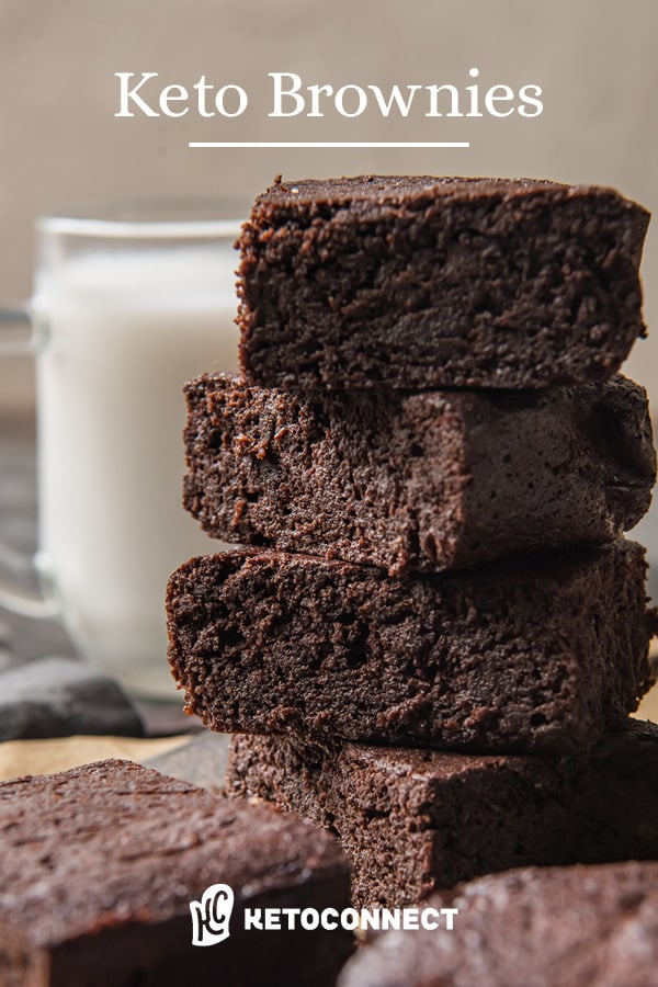 Extra fudgy coconut flour keto brownies