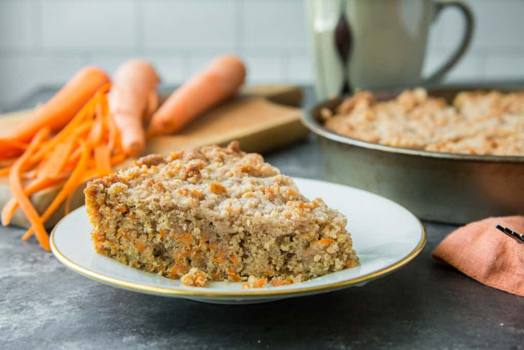 coffee cake with carrots
