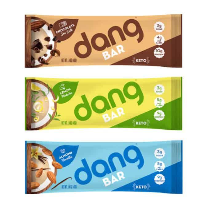 dang bars keto friendly and vegan