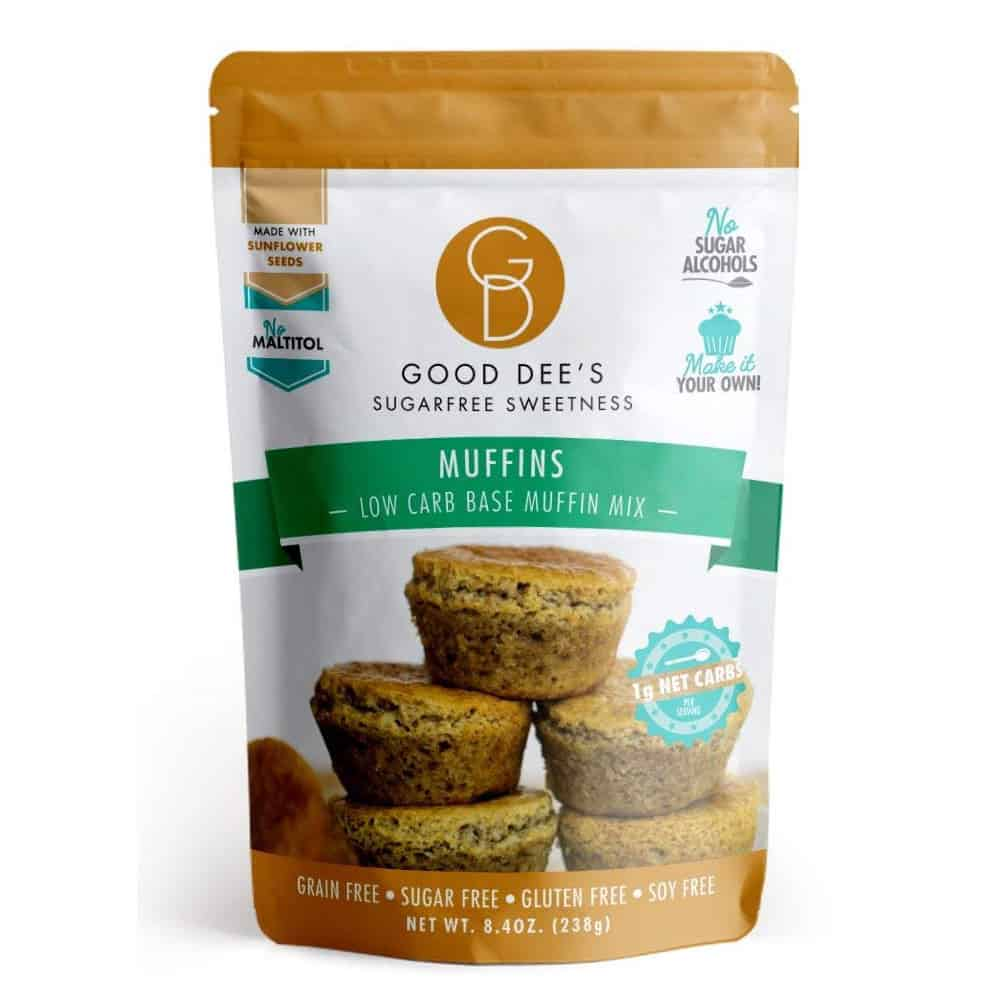 muffin baking mix by good dees