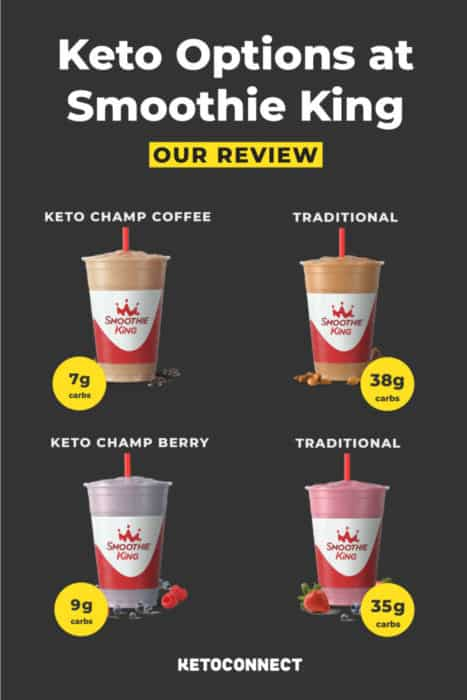 Smoothie King is offering new keto friendly smoothies, here is our review!