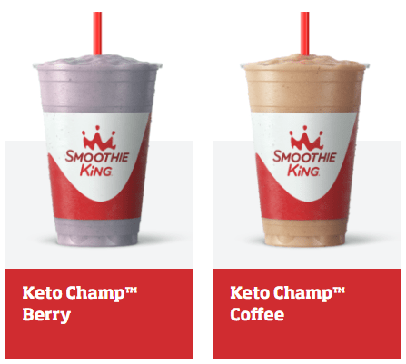 smoothie king berry and smoothie king coffee smoothies mock up shot