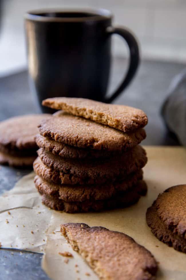 keto ginger cookies
