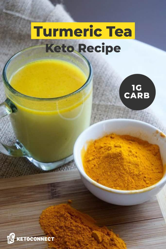 Keto Turmeric Tea is not only delicious, but also has many health benefits!