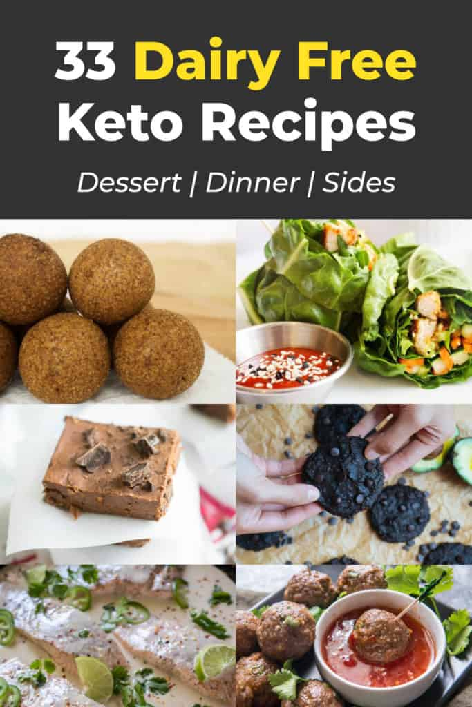 recipes that do not use dairy and are low carb