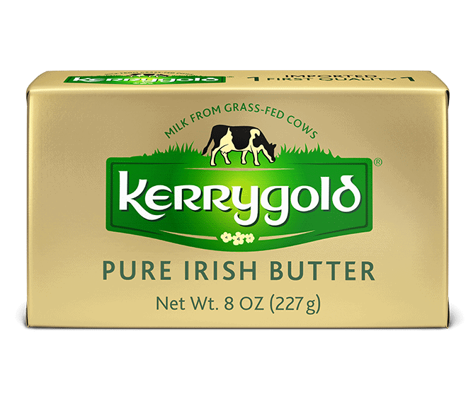 package of kerrygold salted butter
