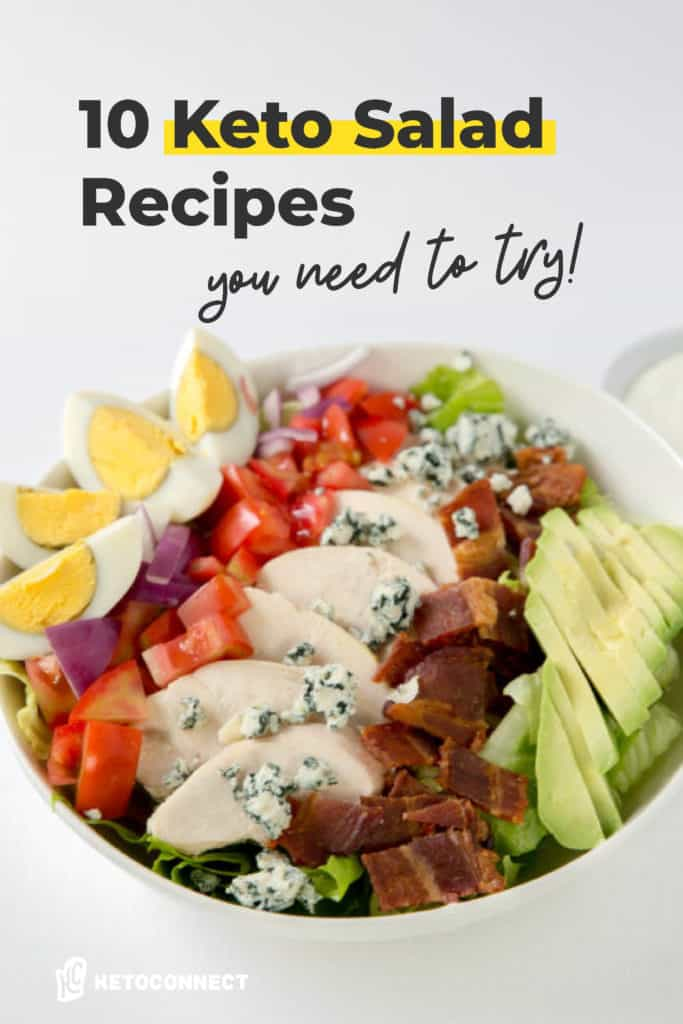 10 easy keto salad recipes to try on keto