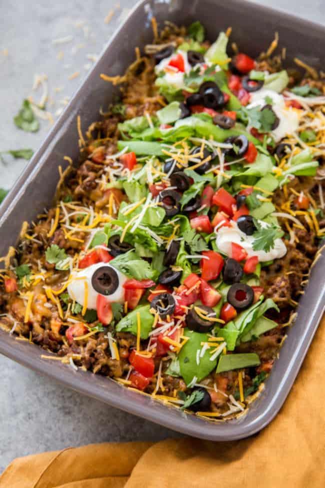 taco salad casserole