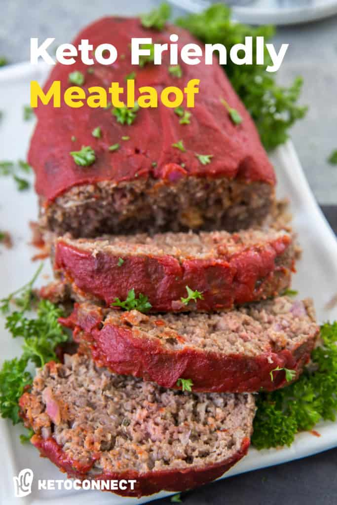meatloaf that is sliced and ready for dinner
