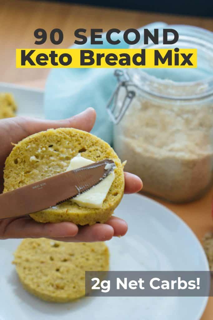 Keto Mug Bread In 90 Seconds Ketoconnect