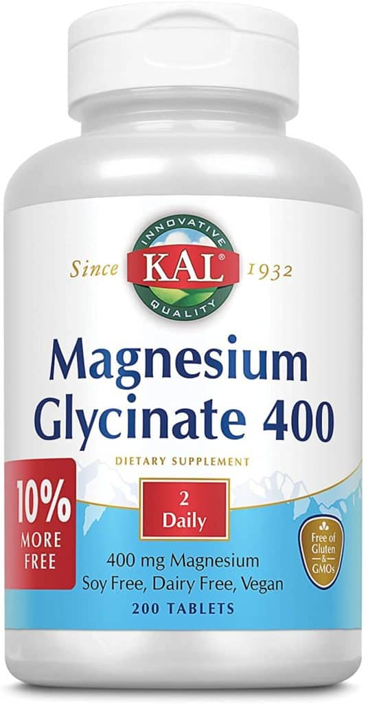 bottle of magnesium for keto constipation