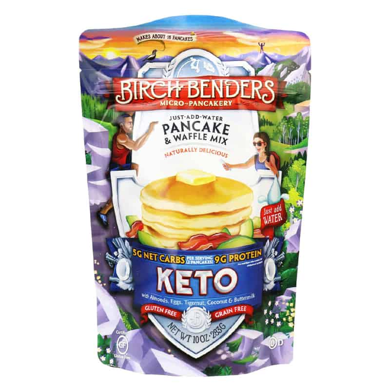 keto pancake mix by birch benders from costco