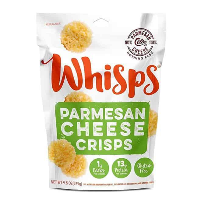 cello whisps parmesan cheese flavor