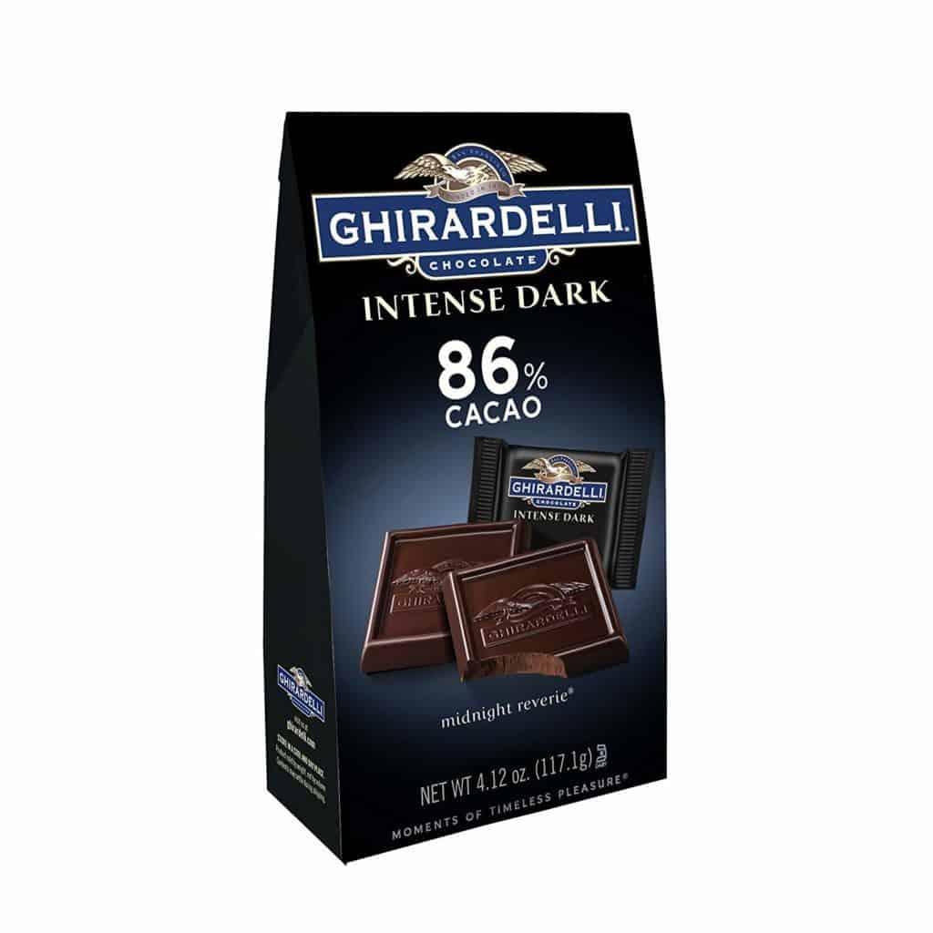 Ghiradelli Dark Chocolate Squares