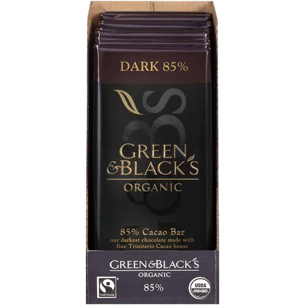 Green and Blacks Dark Chocolate Bar