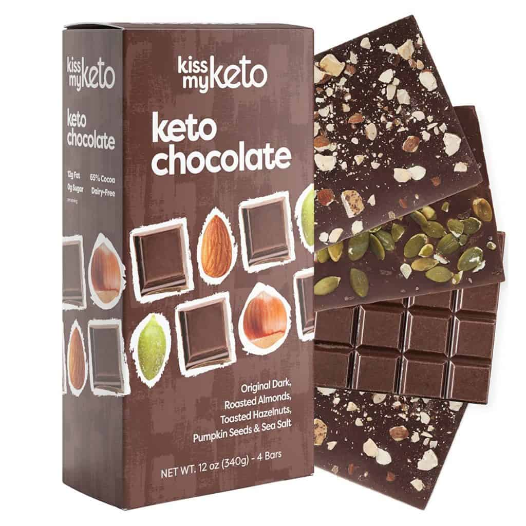 Kiss My Keto Chocolate bars