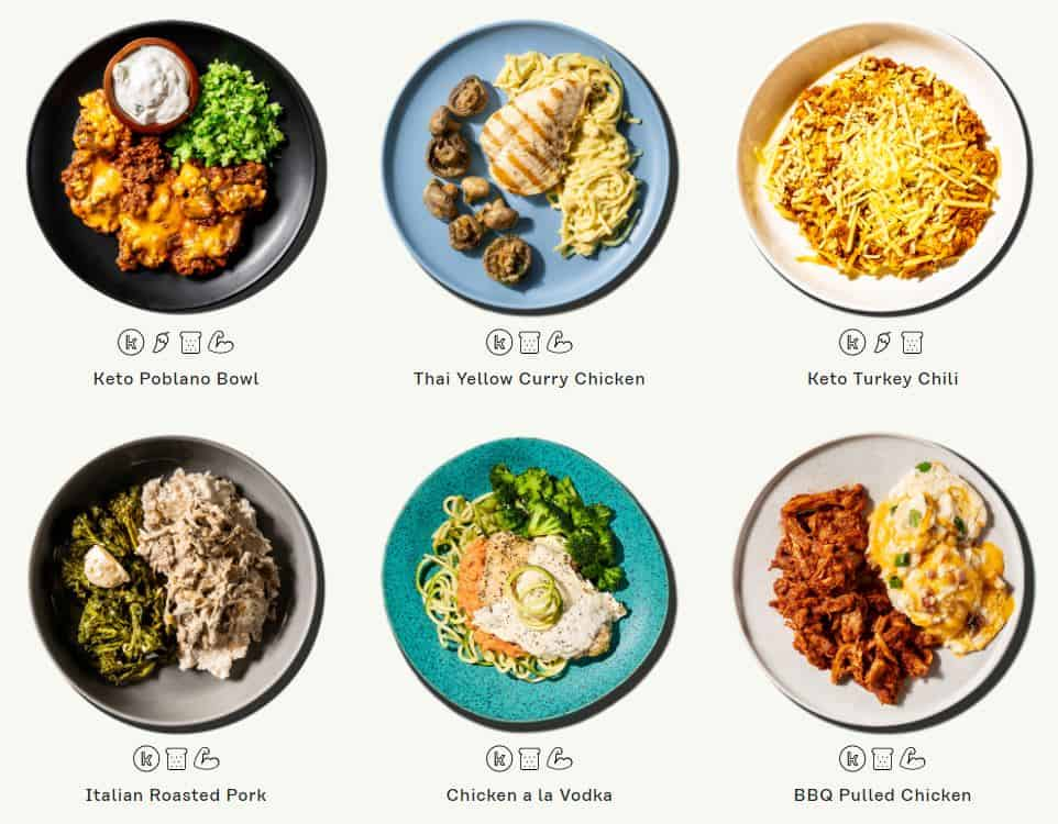 keto dinner meals from factor 75