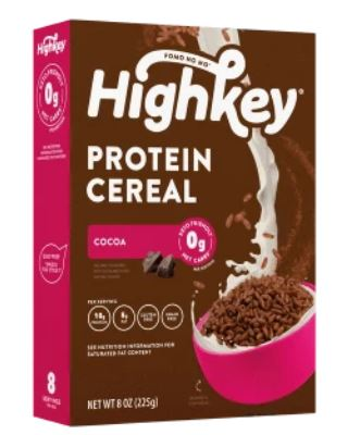 high key protein cereal chocolate flavor