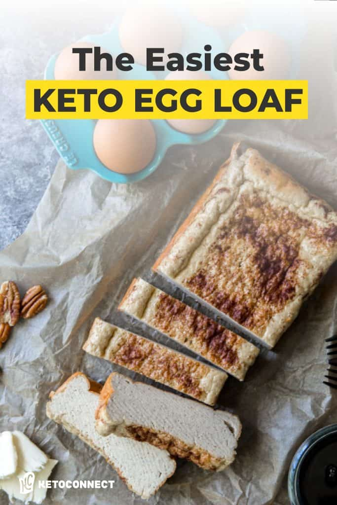 cinnamon dusted egg loaf on parchment paper