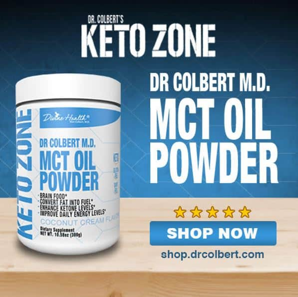 dr. colbert's mct oil powder
