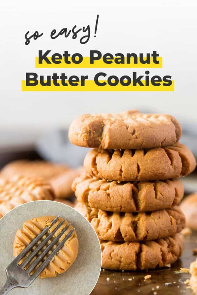 peanut butter cookies using 3 ingredients