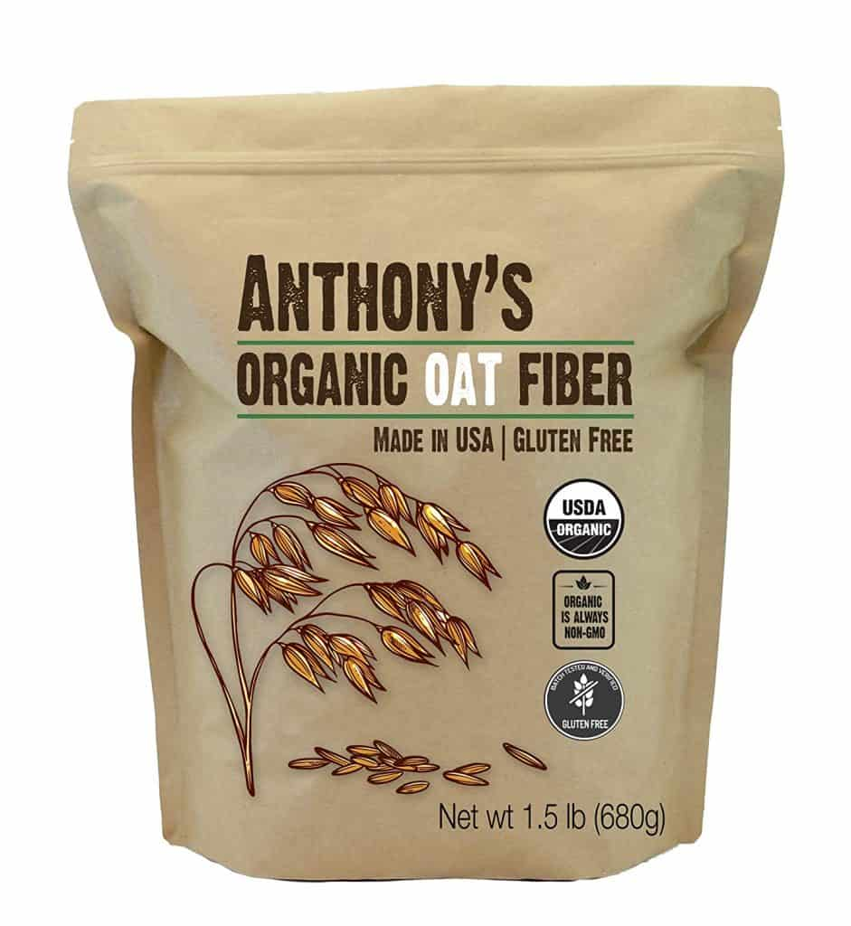 A bag of Anthonys oat fiber