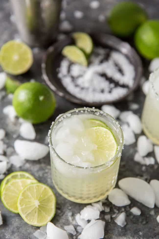 Refreshing keto margaritas