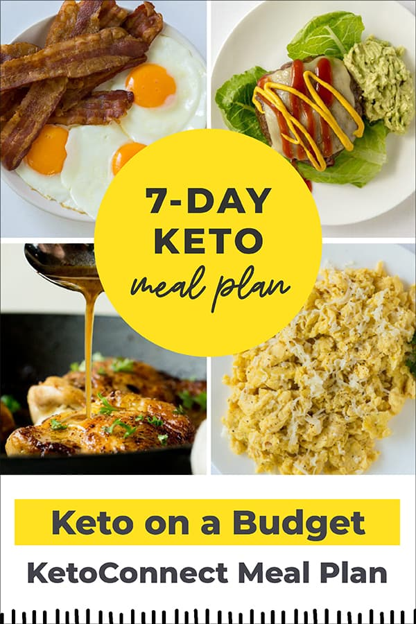 keto on a budget pin and featured image
