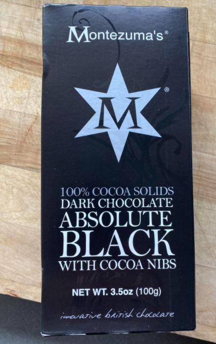 Montezuma's 100% Dark Chocolate with Almond and Sea Salt