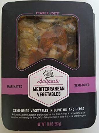 Trader Joe's Antipasto Mediterranean Vegetables