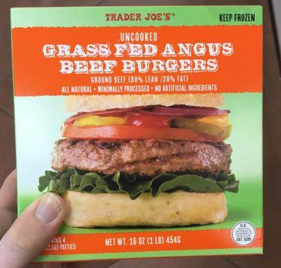 Trader Joe's Grass Fed Angus Beef
