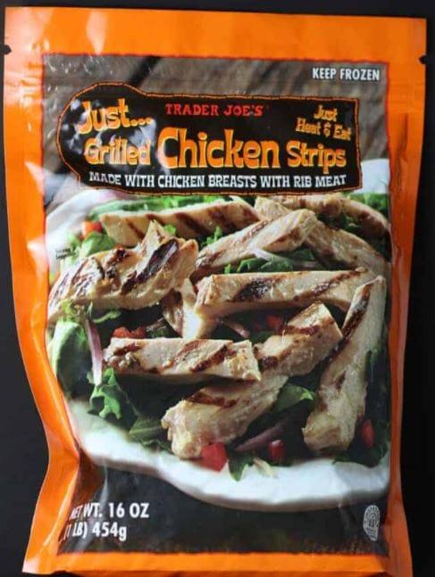 Trader Joe's Just Grilled Chicken Strips