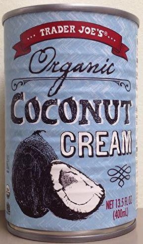 Trader Joe's Organic Coconut Cream