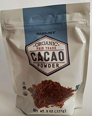 Trader Joe's Organic Fair Trade Cacao Powder