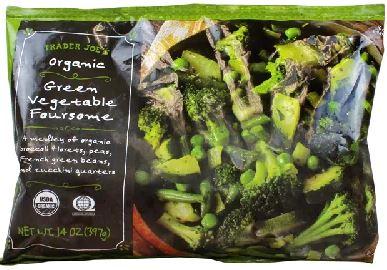 Trader Joe's Organic Green Vegetable Foursome