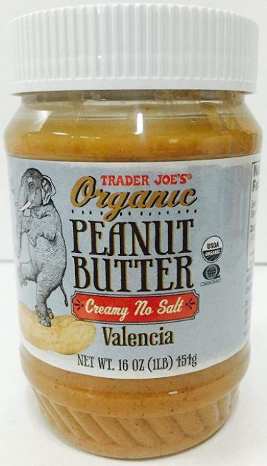 Trader Joe's Organic Peanut Butter
