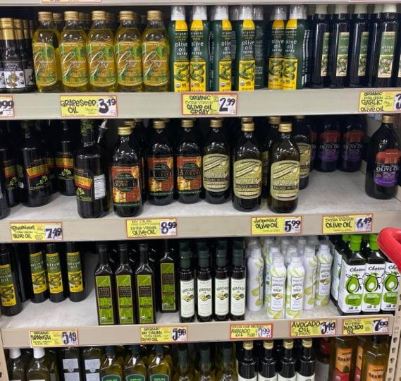 Trader Joe's Unfiltered Organic Greek Extra Virgin Olive Oil