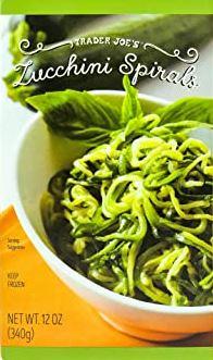 Trader Joe's Zucchini Spirals