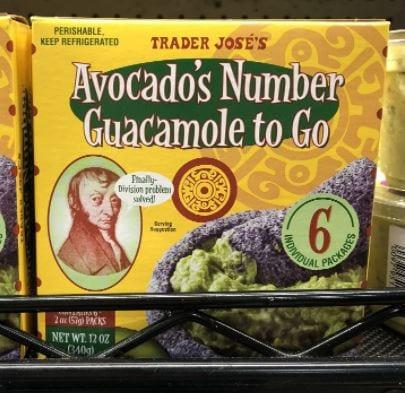 Trader Jose's Avocado's Number Guacamole to Go