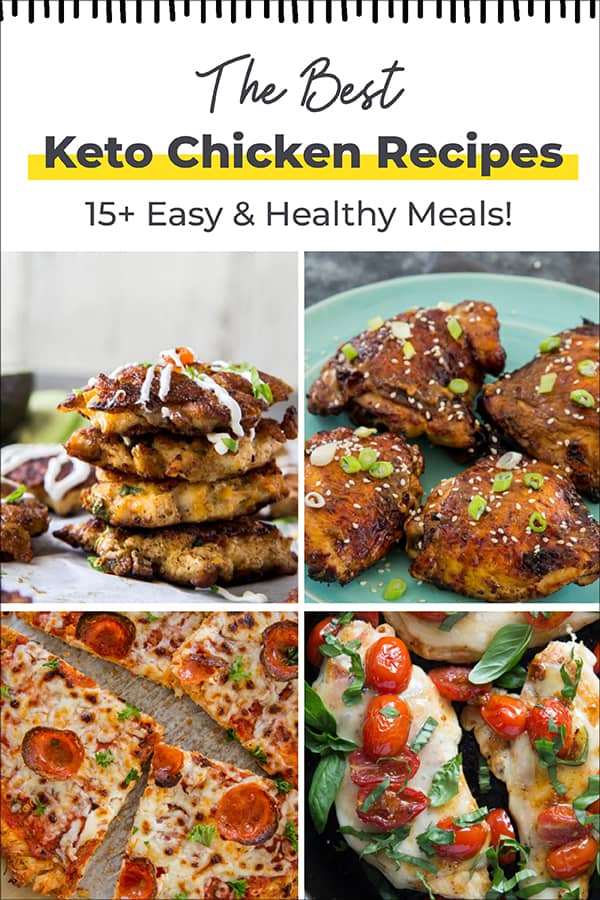 list of the best keto chicken recipes