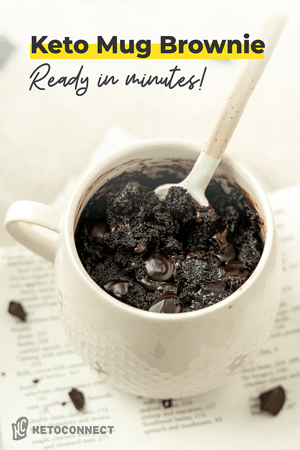 keto mug brownie pin