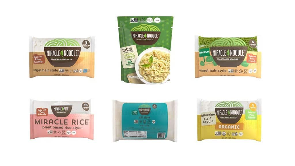 Mini Variety Sampler to include their different noodle options and their rice option.