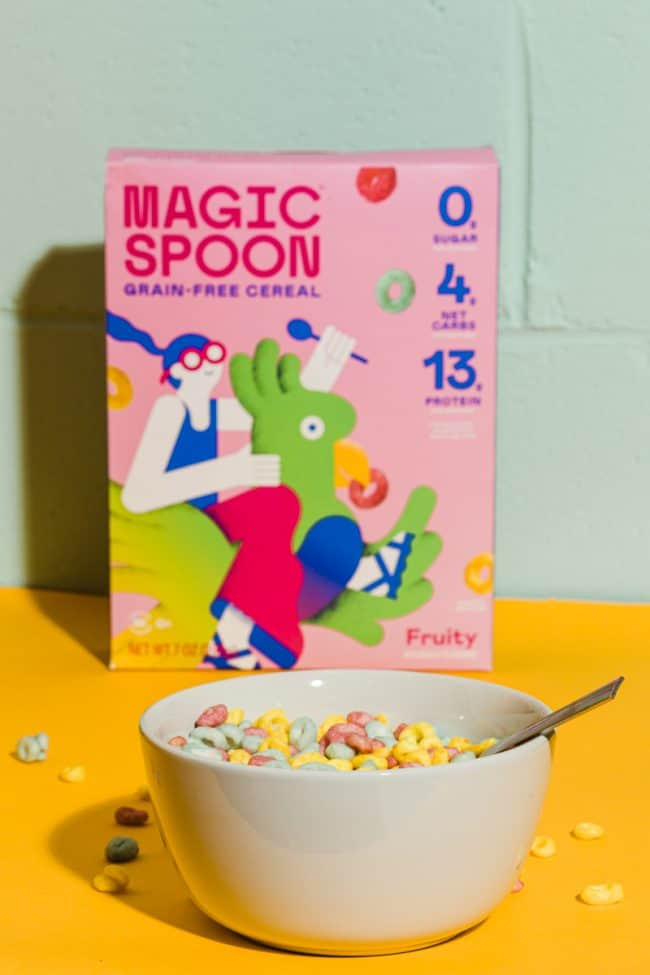 box of magic spoon cereal which is one of the best keto products