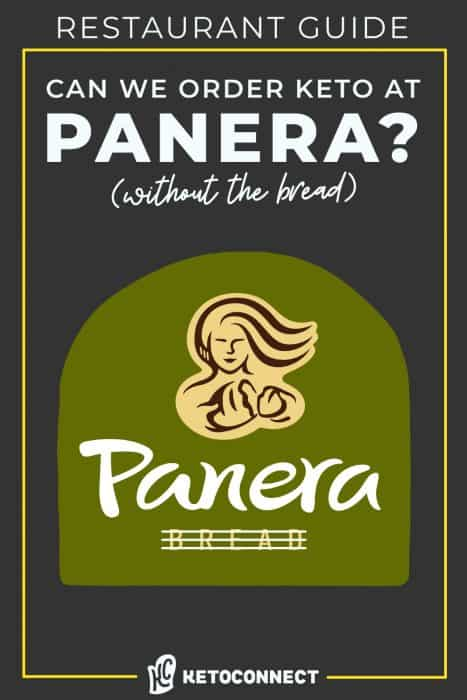 panera logo with text overlay for keto diet