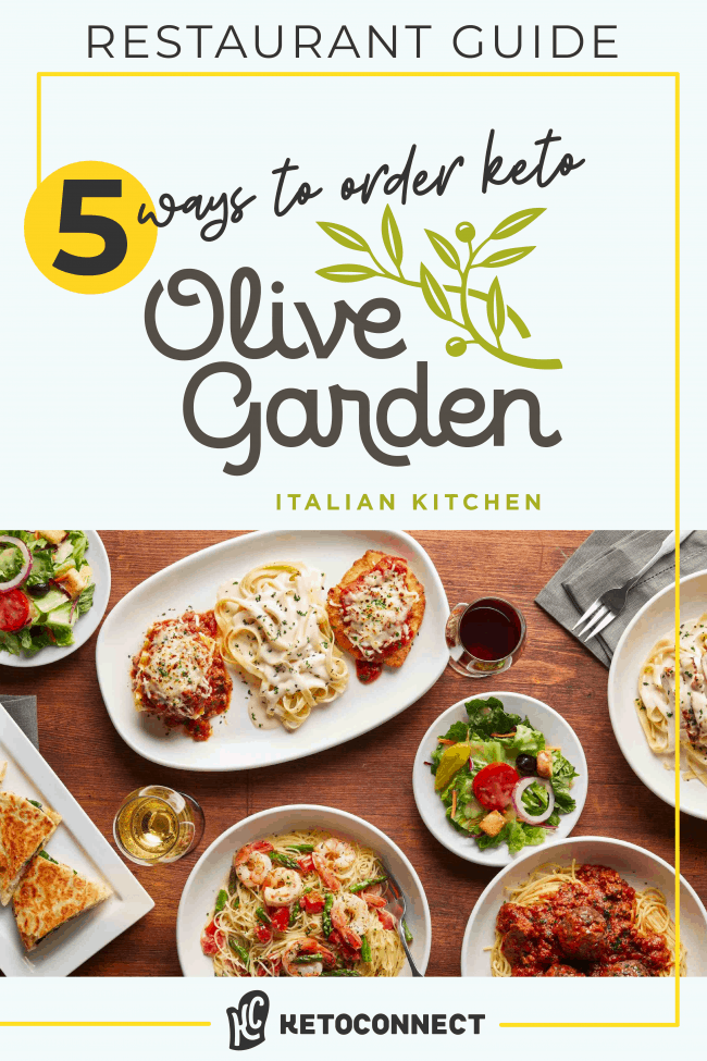 everything you can order from olive garden on a keto diet