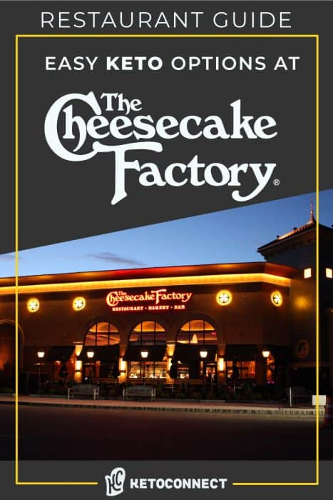 the cheesecake factory storefront with text overlay