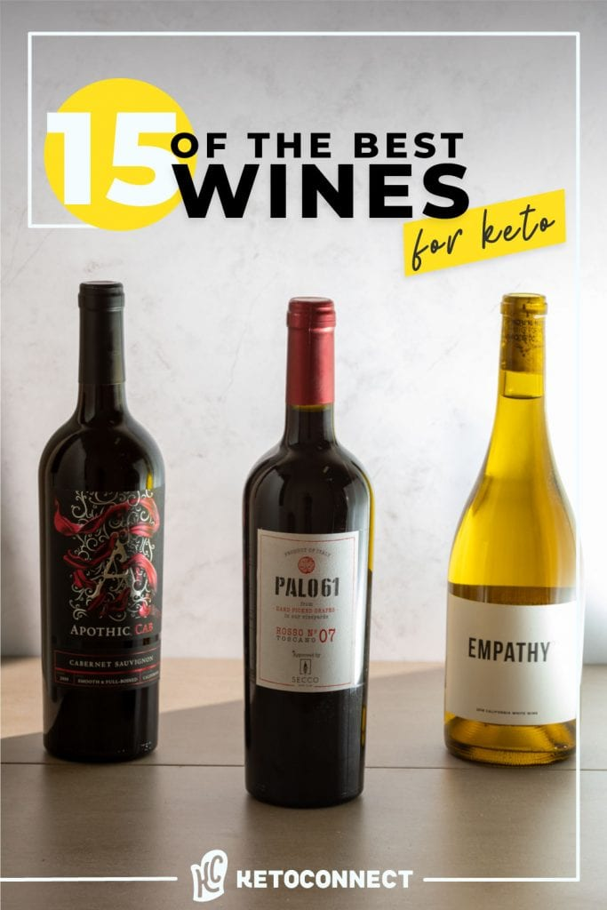 15 best wines for a keto diet