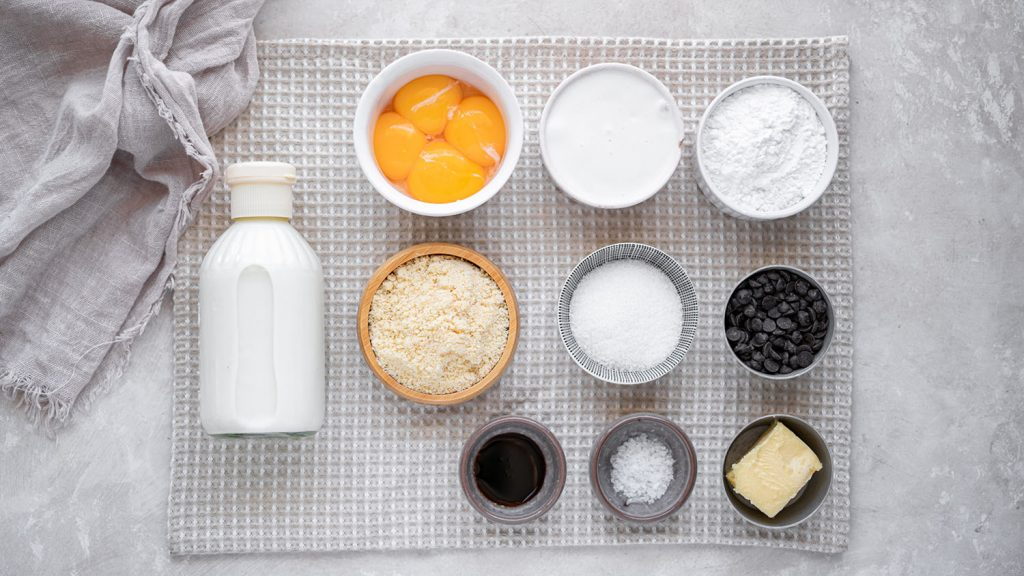 ingredients needed for keto ice cream
