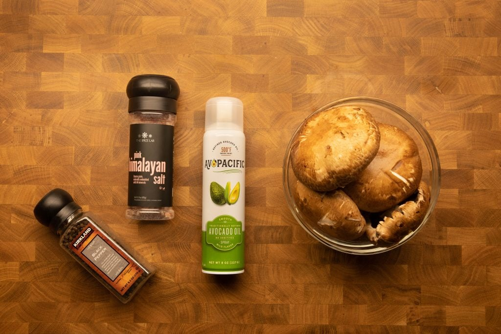 simple ingredients needed for making chips