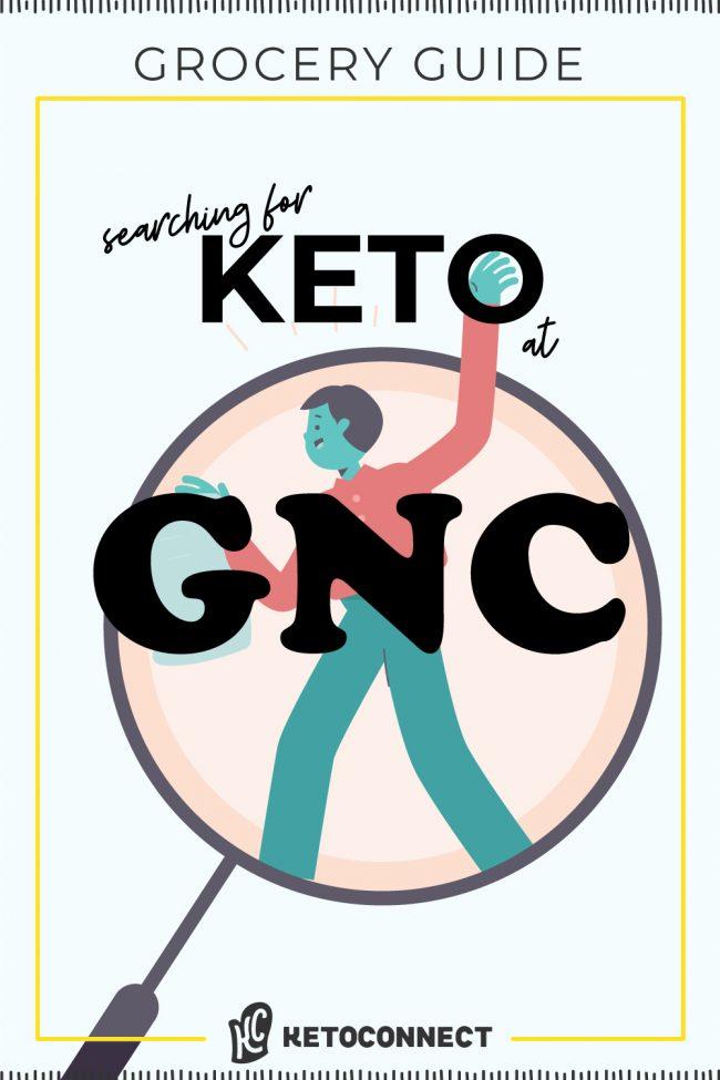 gnc keto guide full shopping list